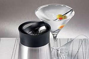 The FlipTop Cocktail Shaker Makes It Shaken Not Stirred