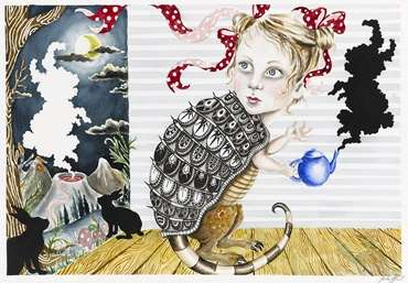 Alice In Wonderland Inspired Art