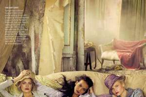 'It's a Madcap World' in Vogue by Steven Meisel