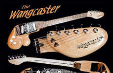Naughty Wangcaster Guitar Is Pretty Ballsy