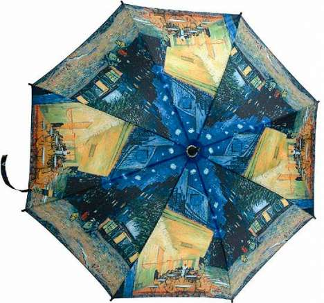 Van Gogh Automatic Umbrella Keeps You Dry in Style