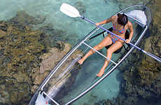 See Through Kayaks - Transparent 'Molokini' Lets You Explore Underwater Without Getting Wet