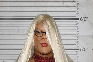 Tyler Perry in Drag for 'Medea Goes to Jail'
