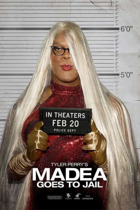 Tyler Perry in Drag for