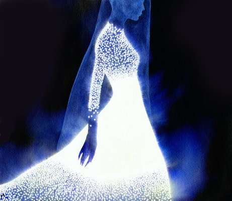 Illuminated Fashion Illustrations