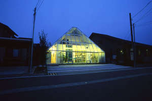The Glass Pyramid House by Yukihide Mizuno
