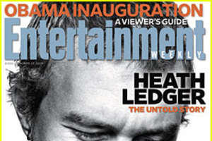 Heath Ledger Graces Front of Entertainment Weekly
