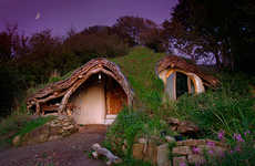 Hobbit-Style Architecture - Low Impact Woodland Homes Built With Surrounding Nature