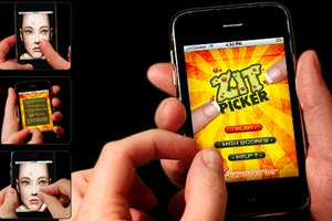 The 'Zit Picker' Game Sets New Low For Mobile Entertainment