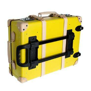 Canary Yellow Luggage