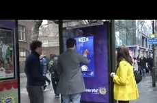 Interactive Chocolate Ads - Cadbury Touchscreen Bus Shelter Game