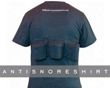 Anti-Snore Shirts - The Rem-A-Tee Treats Snoring and Sleep Apnea With Mini Back Bolsters