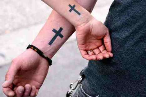 Photos of Tattoos for Couples (Via: trendhunter)