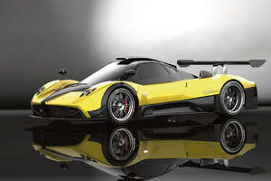 With 750 Horsepower, the Pagani Zonda R is Fast in German and Italian