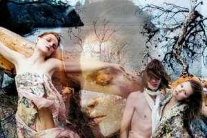 Kenzo's Layered Photo Ads Have Bohemian Fairytale Vibe