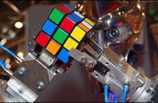 Puzzle-Solving Robots
