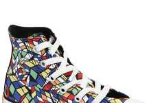 Rubiks Cube-Inspired Shoes