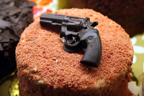 Gun Cakes