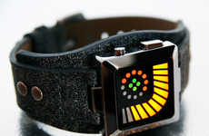 Telling Time With Images - This Tokyo Flash Watch Isn't Suitable For Math Haters