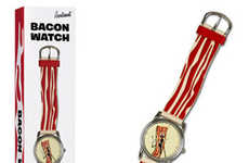 Porky Accessories - The Bacon Watch Ensures You Always Know When It's Breakfast Time