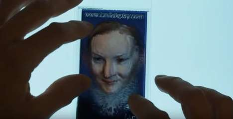 Printed 3D Hologram Cards - Lumii Technology Lets Users Create 3D Holograms with Consumer Printers