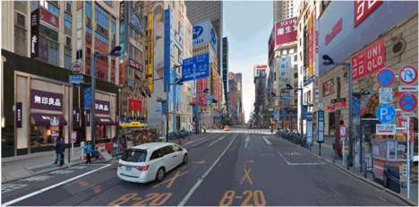 "Re-Imagined Cityscape Photos - The ""Tokyo-lization Project"" Gives Cities a Tokyo-Style Makeover"
