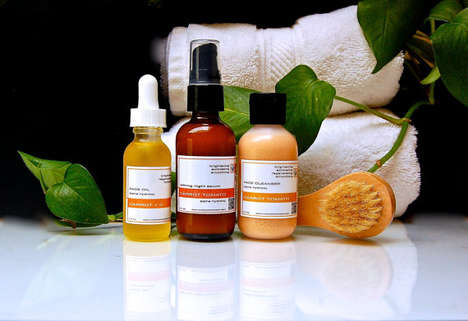 Vegetable-Based Skincare Kits - LunaseaBotanicals's Products Feature Carrot and Tomato Ingredients