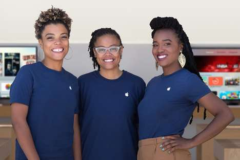 Diversifying Company Ventures - Apple is Fighting the Gender Pay Gap and Employing More Minorities