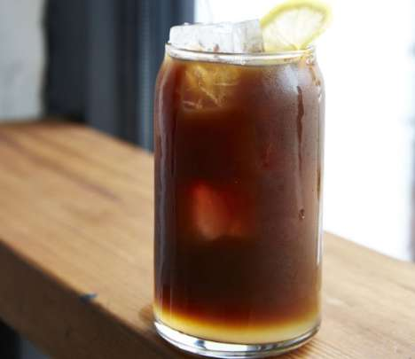 Hybrid Lemonade Coffees - The Stand Coffee Shop Offers a Lemonade-Flavored Iced Coffee Beverage
