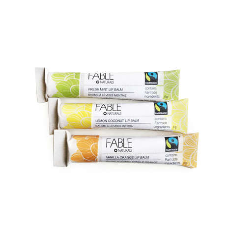 Compostable Lip Balms - Fable Naturals' Eco Cosmetics Packaging Can Be Returned to the Earth
