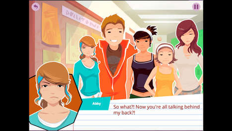 Episodic Teen Games - 'LongStory' is an LGBTQ-Friendly Dating and Adventure Game