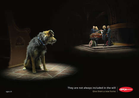 Heart-Wrenching Animal Abandonment Ads - Havas Genève Shows Why Pets are Often Left Forgotten