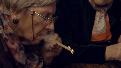 Daring Granny Documentries - Grandmas Smoke & Get Introduced to Youth Culture on This Channel 4 Show