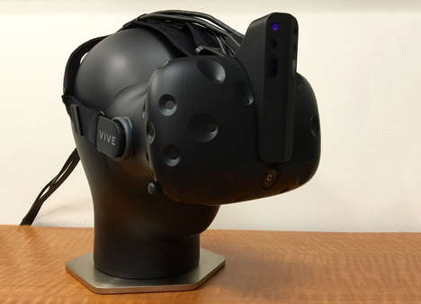 Depth-Sensing VR Horns - A New Attachment for the HTC Vive Could Aid in Environment Tracking