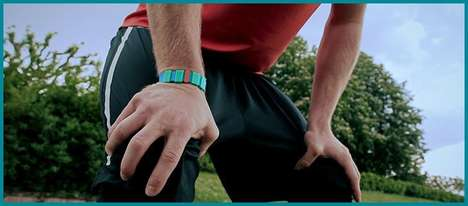 Battery-Free Milestone Trackers - 'mopusher' Bracelets Help Motivate Wearers by Tracking Success