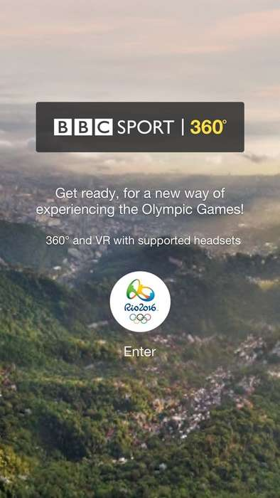 360-Degree Olympic Coverage - The BBC Sport 360 App Will Give Viewers a 360-Degree View of the Games