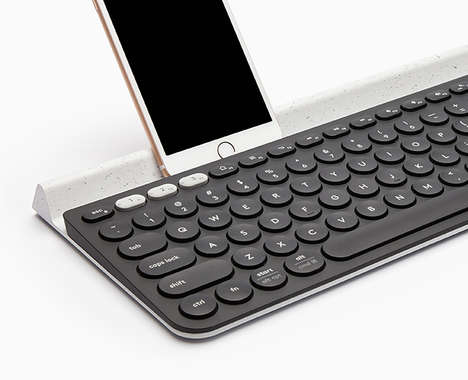 Slender Multi-Device Keyboards