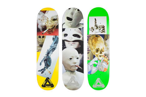 Meme-Inspired Skate Decks - These Board Designs Use a Robot from a Popular Internet Meme