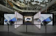 Sporty Technology Pop-Ups - Samsung's Galaxy Studio Lets Fans Experience the Olympics in VR