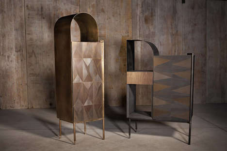 Metal Furniture Collections - This Furniture Line Was Inspired by Decor from the 1920s
