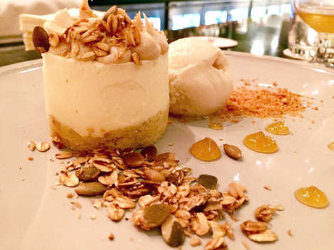 Sheep's Milk Cheesecakes - NYC's Lupulo Restaurant Makes a Dessert Cheesecake with Alternative Milk