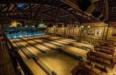 Restored 1920s Bowling Alleys