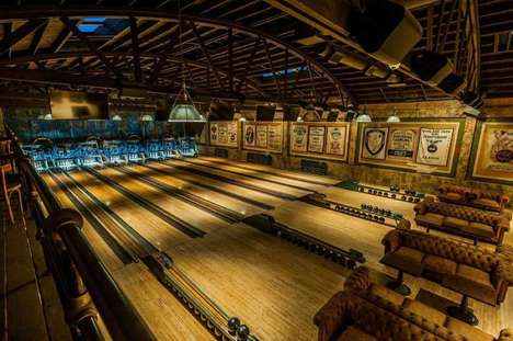 Restored 1920s Bowling Alleys - 'Highland Park Bowl' is a Historically Accurate Recreation
