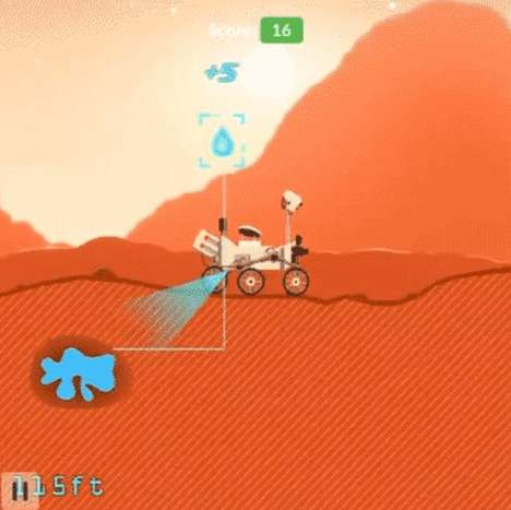 Celebratory Mars Rover Games - 'Mars Rover' is a Cute Simulation of the Curiosity Rover's Mission