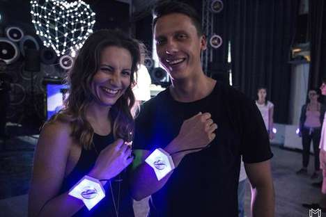 Heart-Monitoring Concert Wristbands - DJ Piotr Bejnar Enhanced His Concert Experience with Wearables