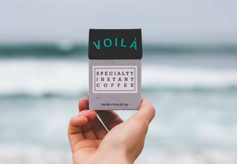 "Crystallized Instant Coffees - Voilà is Introducing Itself as the ""World's Best Instant Coffee"""