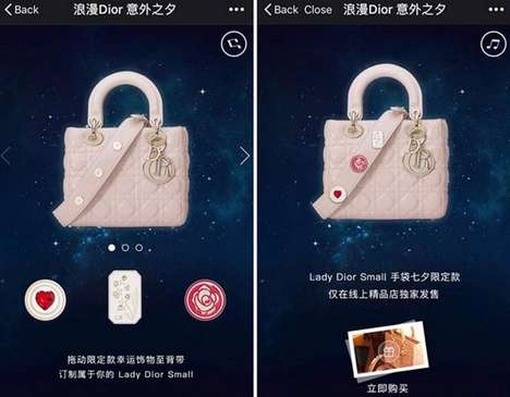 In-App Handbag Sales - Dior Promoted Its Luxury 'Lady Dior' Bag Exclusively Through WeChat