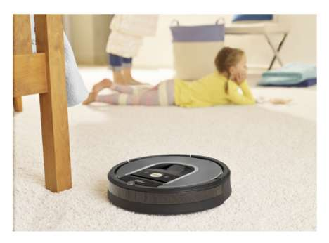App-Controlled Vacuum Cleaners - This Robotic Vacuum Cleaner Can Be Monitored Via Your Smartphone