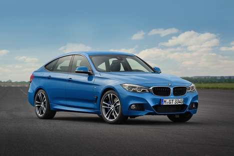 Upgraded Sports Cars - The New BMW 3 Series Gran Turismo Features an Automatic Spoiler