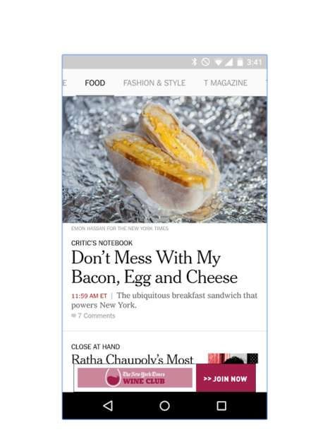 Language-Inclusive News Apps - The New York Times' New App Caters to Spanish-Speaking Readers